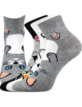 Ponožky Boma MICKA - balení 3 páry v barevném mixu