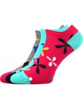 Dámské ponožky Boma Piki 53 - balení 3 různé páry
