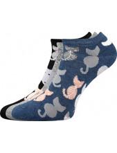 Dámské ponožky Boma Piki 54 - balení 3 různé páry