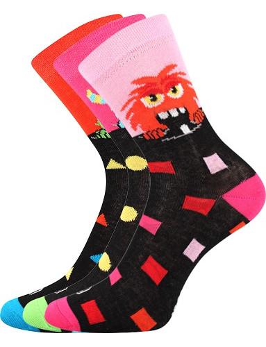 Dětské ponožky Lonka UFONEK, mix holka