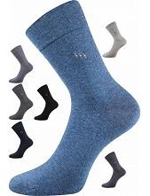 Společenské ponožky Lonka DIPOOL - balení 3 stejné páry, i v nadměrné velikosti
