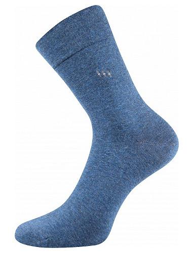 Společenské ponožky Lonka DIPOOL, jeans melé