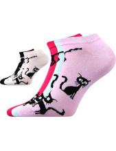 Ponožky Boma Piki dámské Mix 33 - balení 3 páry
