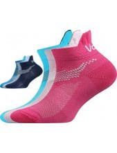 IRIS dětské sportovní ponožky VoXX, mix A, magenta