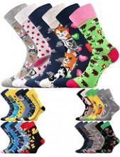 Ponožky Lonka DOBLE, balení různé páry