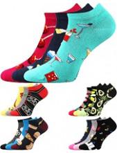 Ponožky Lonka DEDON - balení 3 různé páry