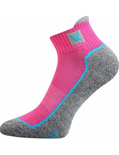 Sportovní ponožky VoXX Nesty 01, magenta