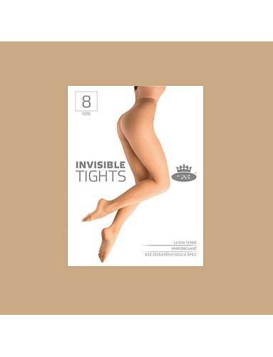 Punčochové kalhoty INVISIBLE tights 8 DEN, beige