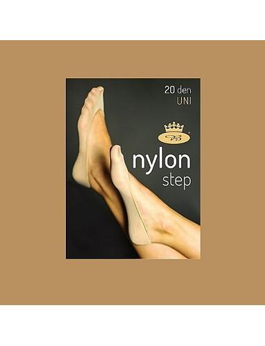 Punčochové ťapky NYLONstep 20DEN, beige