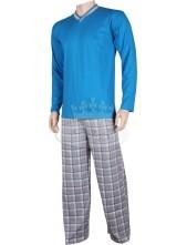 Pánské pyžamo Kája dlouhé rukávy