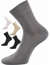 Bambusové ponožky Lonka DEMI - balení 3 stejné páry