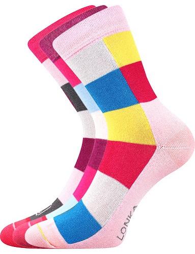 Dětské ponožky Lonka BAMCUBIK , mixB/holka