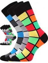Pánské ponožky Lonka WEAREL 024 - balení 3 páry v barevném mixu