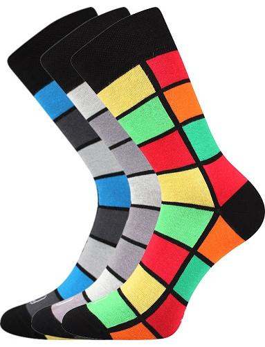 Pánské ponožky Lonka WEAREL 024, mix B