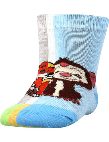 Kojenecké ponožky Boma FILÍPEK 01 ABS, mix A / kluk