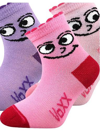 Kojenecké ponožky VoXX KUKIK, mix B holka