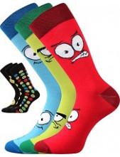 Pánské ponožky Lonka WEAREL 025 - balení 3 páry v barevném mixu