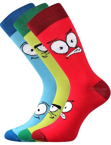 Pánské ponožky Lonka WEAREL 025, mix B