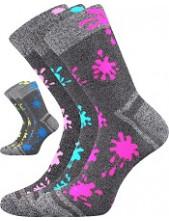 HAWKIK dětské sportovní ponožky VoXX, mix kluk , oranžová