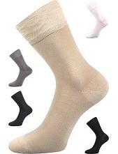 Bambusové ponožky Lonka DELI - balení 3 stejné páry