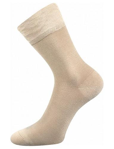 Bambusové ponožky Lonka DELI, béžová