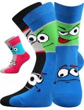 Dětské ponožky Boma TLAMIK - balení 2/3 různé páry v barevném mixu