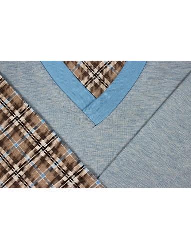 Pánské pyžamo Kája dlouhé rukávy, vzor 27