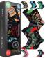 Ponožky Lonka DEBOX - balení 3 různé páry v dárkové krabičce