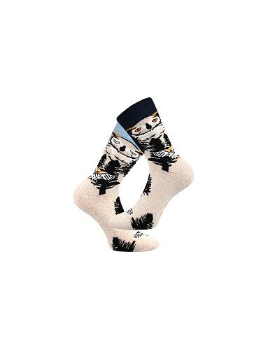 Ponožky Lonka OWLANA, den a noc