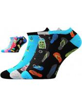 Dámské ponožky Boma Piki 64 - balení 3 různé páry