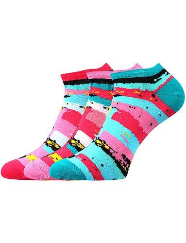 Ponožky Boma Piki 66 - balení 3 různé páry