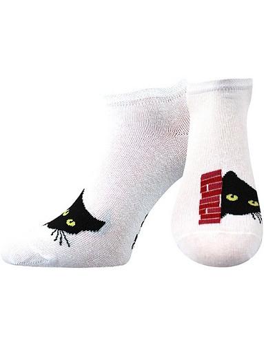 Ponožky Boma Piki 67Mix A, bílá