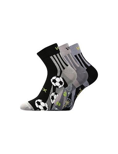 Sportovní ponožky VoXX ABRAS - balení 3 různé páry