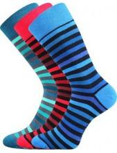 Pánské barevné ponožky Lonka DELINE I - balení 3 páry