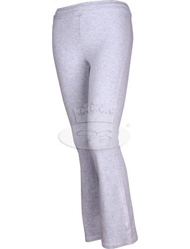 Dívčí tepláky VoXX - Warp dlouhé světle šedá