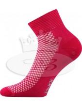 JOLANA barevné sportovní ponožky VoXX Mix magenta