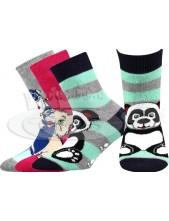 Ponožky Boma PRUHANKA ABS, Mix A