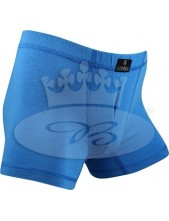 Chlapecké boxerky Lonka CADLÍK, středně modrá
