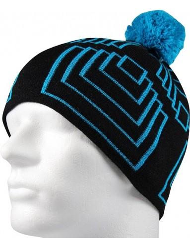 Pletená čepice VoXX AXOR, modrá