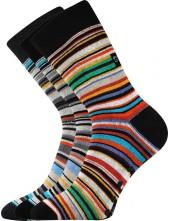 Ponožky Boma PRUHANA ABS. mix II