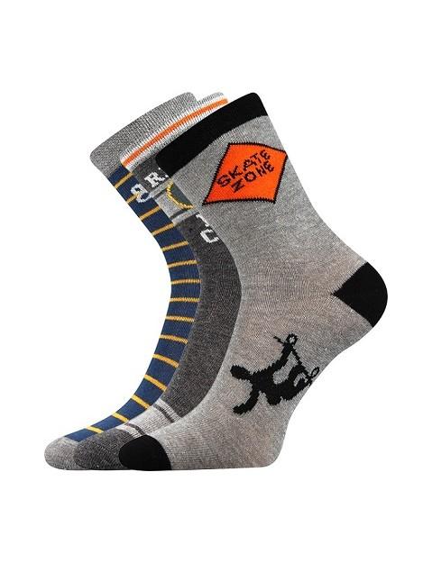 Dětské bavlněné ponožky - Zdarma domů 32eb099a46