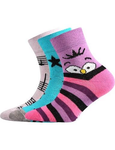 Dětské ponožky 057-21-43 Holka VI, mix C