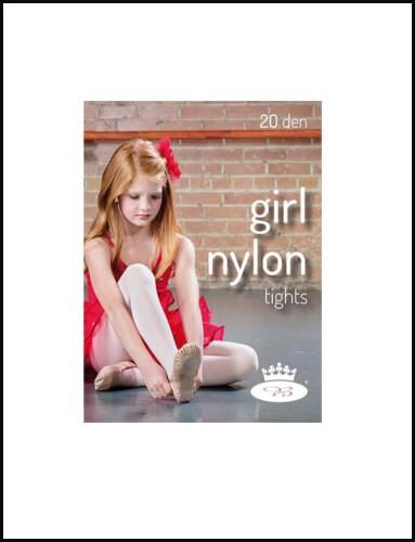 Dívčí punčochové kalhoty GIRL NYLONtights d8986bf58b