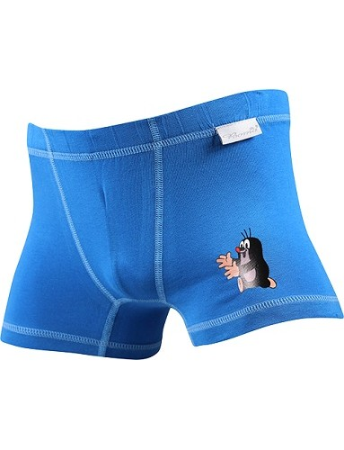 Chlapecké boxerky Boma Krtek KR 003 N modrá