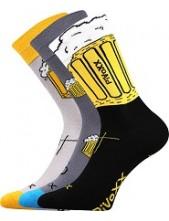 PIVOXX sportovní ponožky VoXX, světle šedá