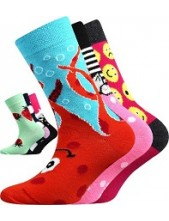 Dětské ponožky 057-21-43, mix C - holka V