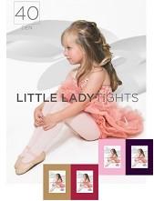 Dívčí punčochové kalhoty LITTLE LADYtights 40DEN