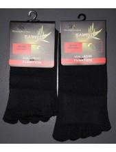 Prstové ponožky 55517 D bambusové