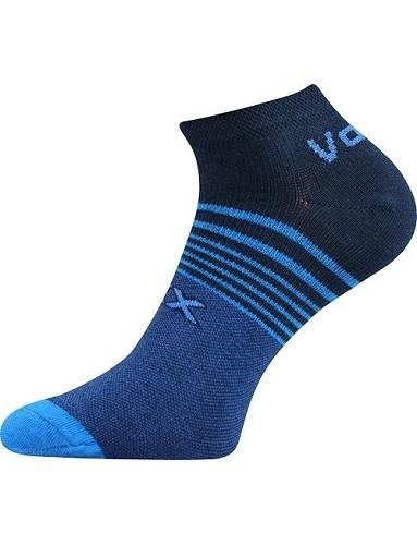 Ponožky VoXX - REX 09 - balení 3 páry, tmavě modrá