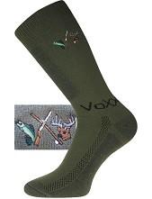 Ponožky VoXX - Lander, tmavě zelená